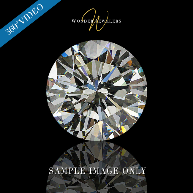 1 Carat Round Cut Loose Diamond GIA Certified H/SI1 + Free Ring (3295377773)