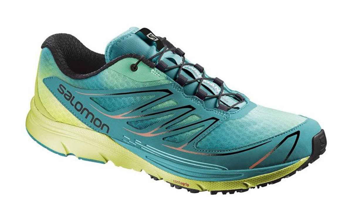 cdbe299e7301 New Salomon Women s Sense Mantra 3 Trail Running Shoe - Purple Granny Green