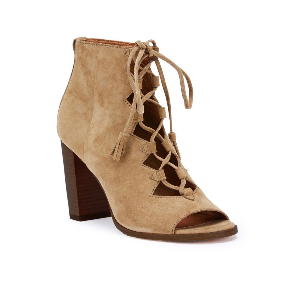 653b73d12e7 FRYE Women s Cece Tassel Lace Wedge Bootie - Brown