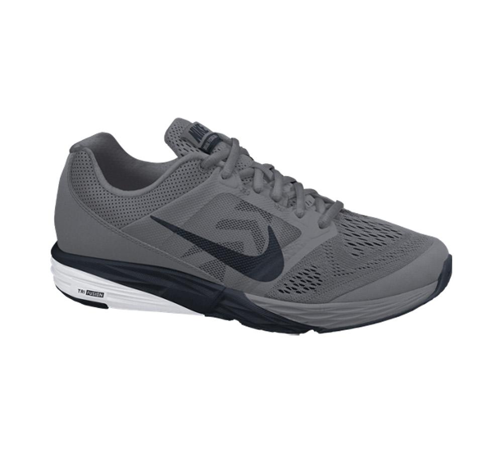 0d451f3806b Nike Men s Tri Fusion Run Running Shoe - Grey
