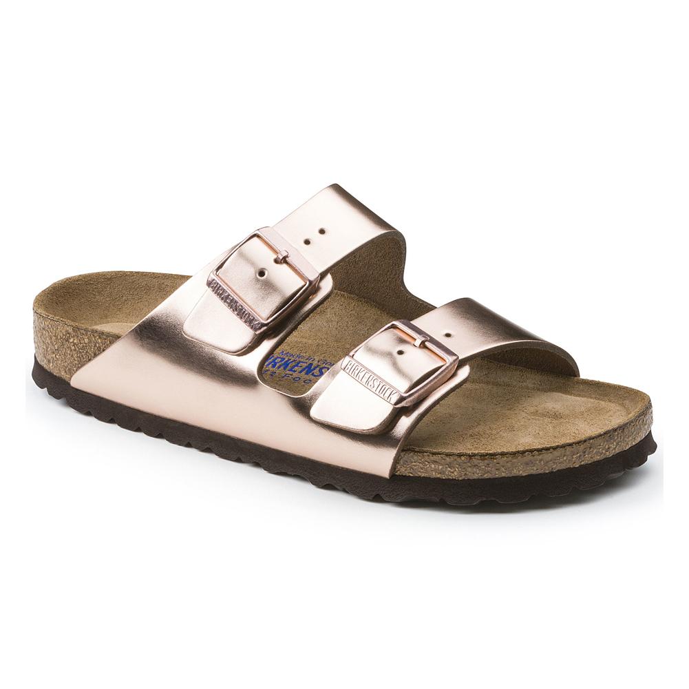 43f2773a74ad Papillio Women s Arizona Platform Slide Sandal - Metallic