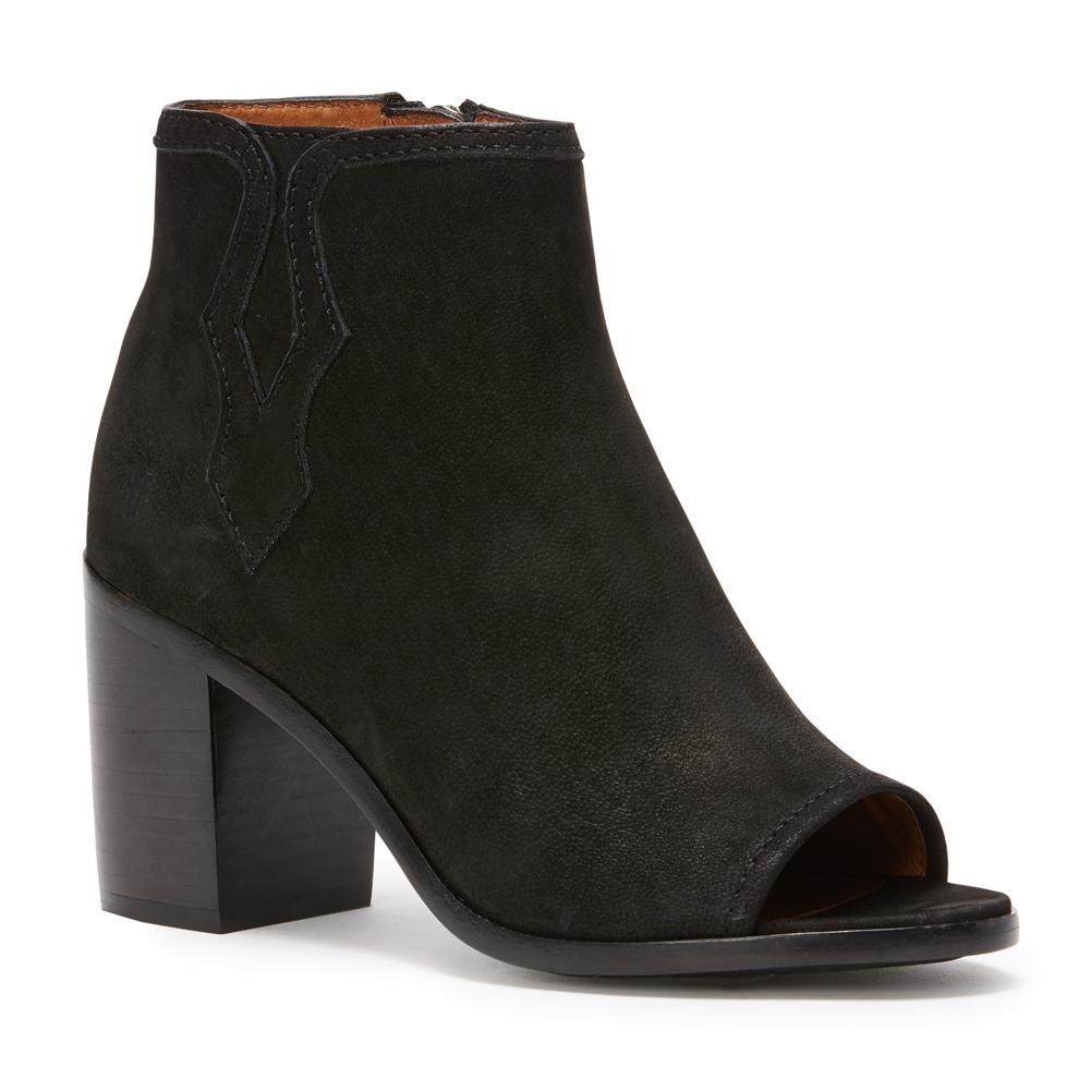 f38991e5672 FRYE Women s Cece Tassel Lace Wedge Bootie - Black