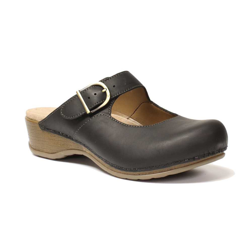 Birkenstock Women's London Clog - Black | Discount Birkenstock Ladies Clogs  & More - Shoolu.com