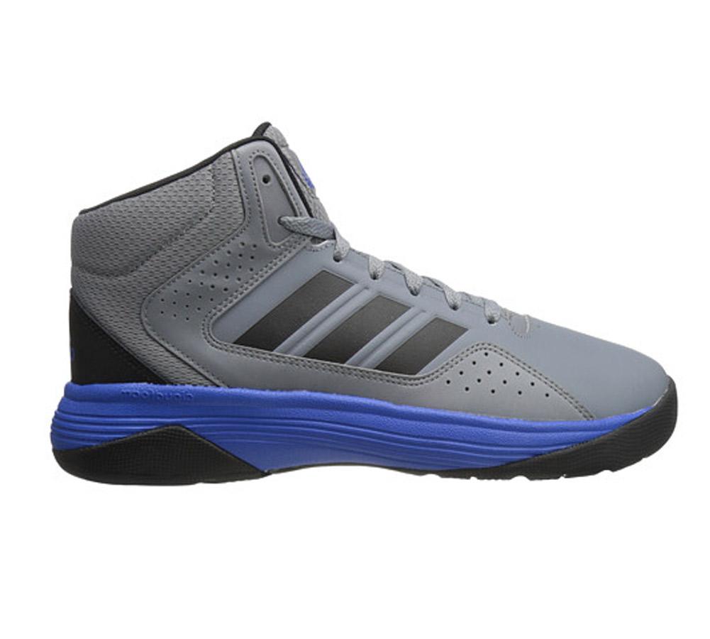73385cfde873 Adidas Men s Cloudfoam Ilation Mid Basketball Shoe - Grey