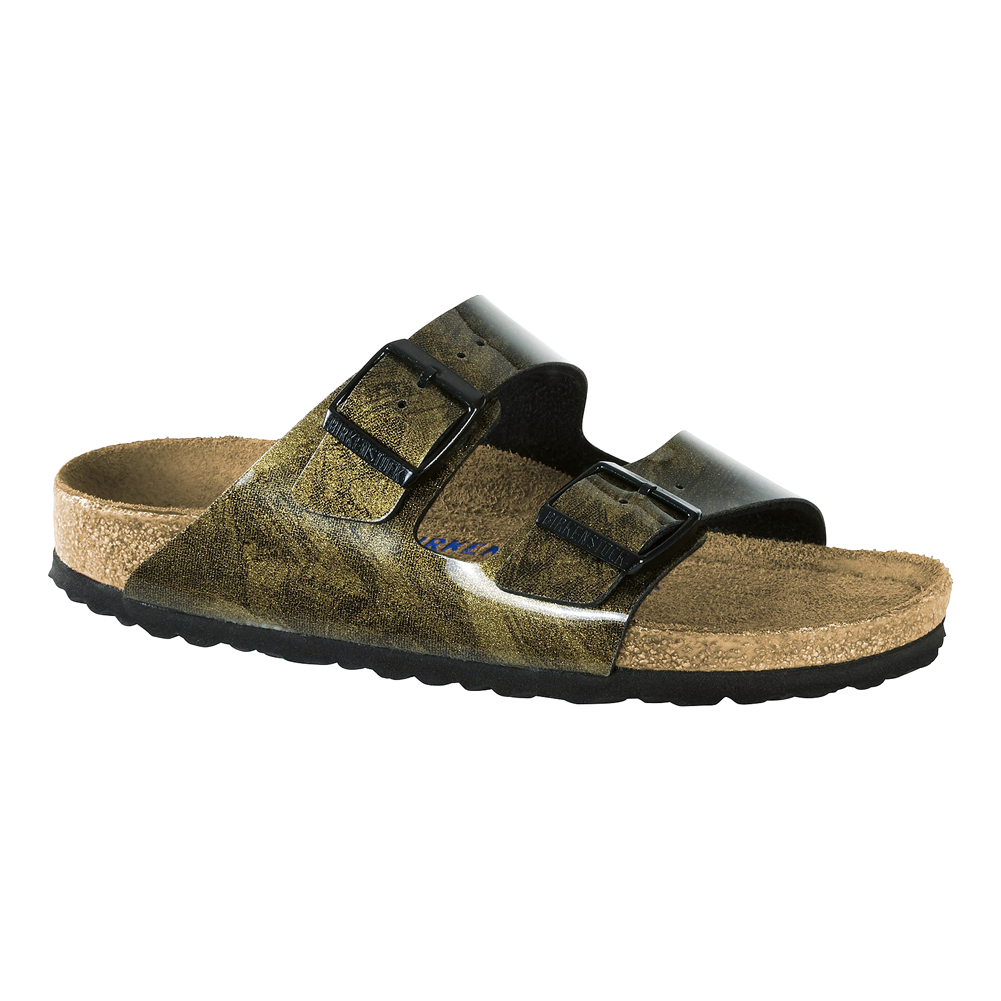 Birkenstock Women's Arizona Rivet Slide Sandal - Blue | Discount  Birkenstock Ladies Sandals & More - Shoolu.com