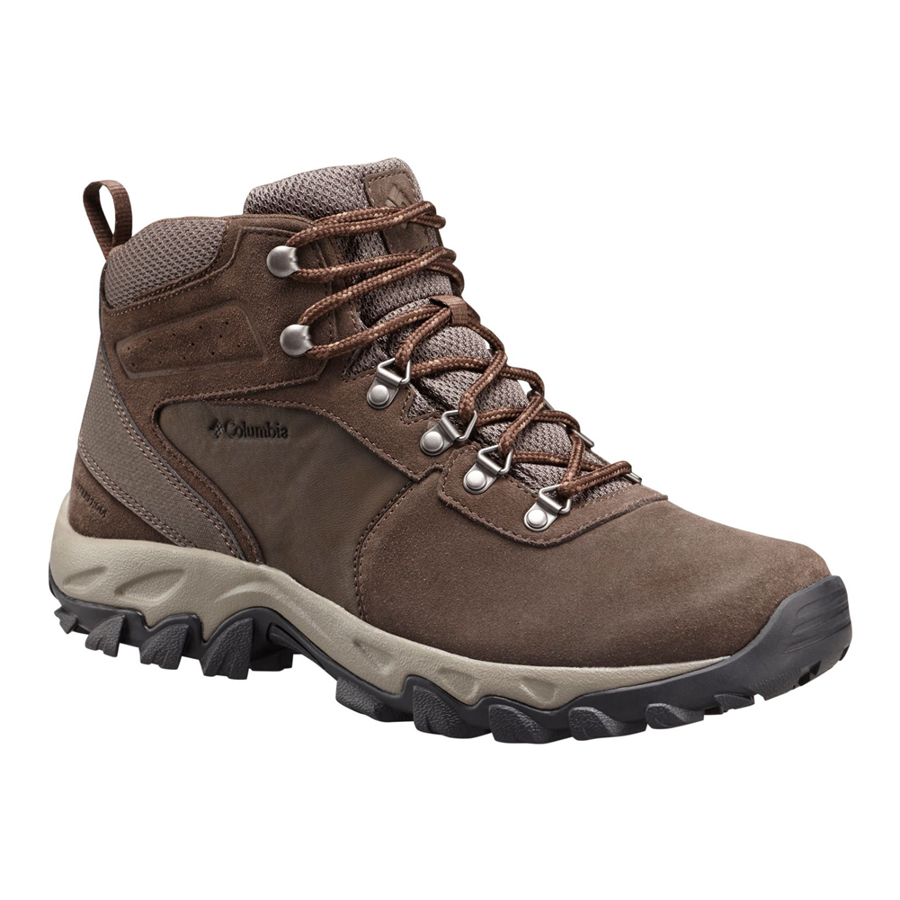 Columbia Men s Newton Ridge Plus II Suede WP Hiking Boot Main Image f62b77b58a4