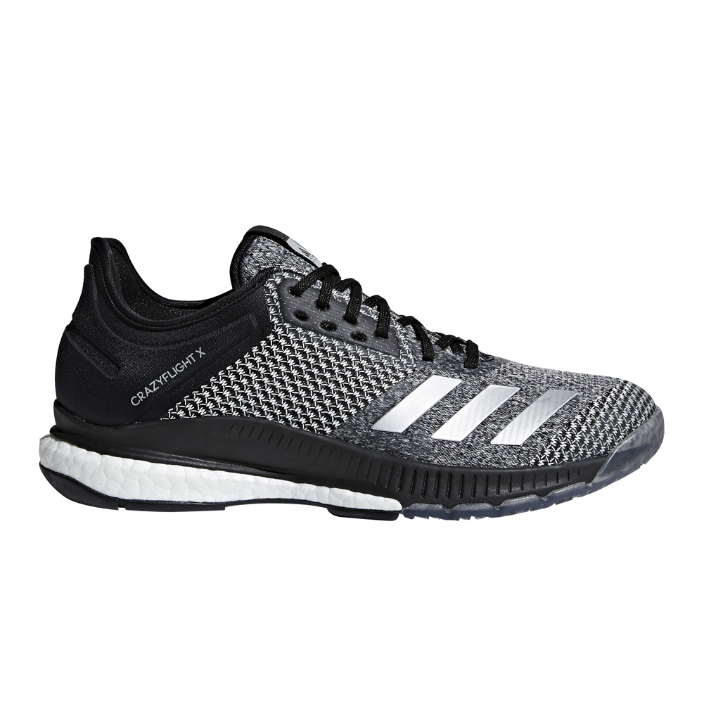 7e7e97239298 Adidas Power Lift Trainer Black Silver Mens Weightlifting Shoes ...
