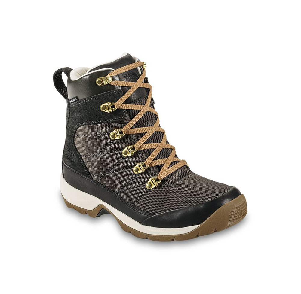 3b831e86f Details about New The North Face Women's Chilkat Nylon Boot Black Ink  Green/Utility Brown 5