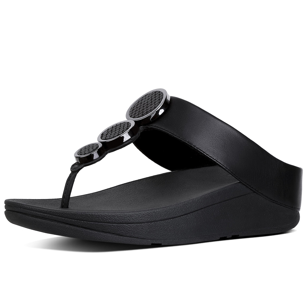 b0bf3a05dad5 Fitflop Women s Linny Toe Thong Sandal - Multicoloured