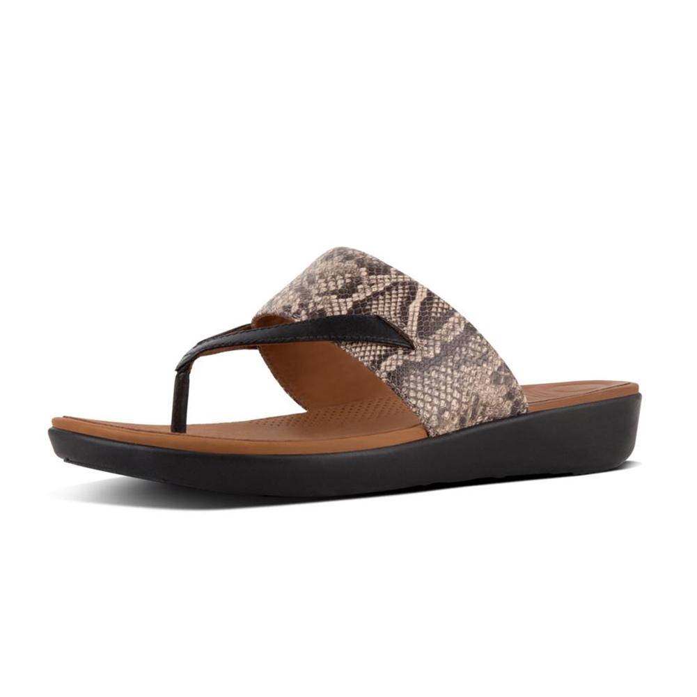 5dee9d013b51 Fitflop Women s Tia Toe Thong Sandal - Brown
