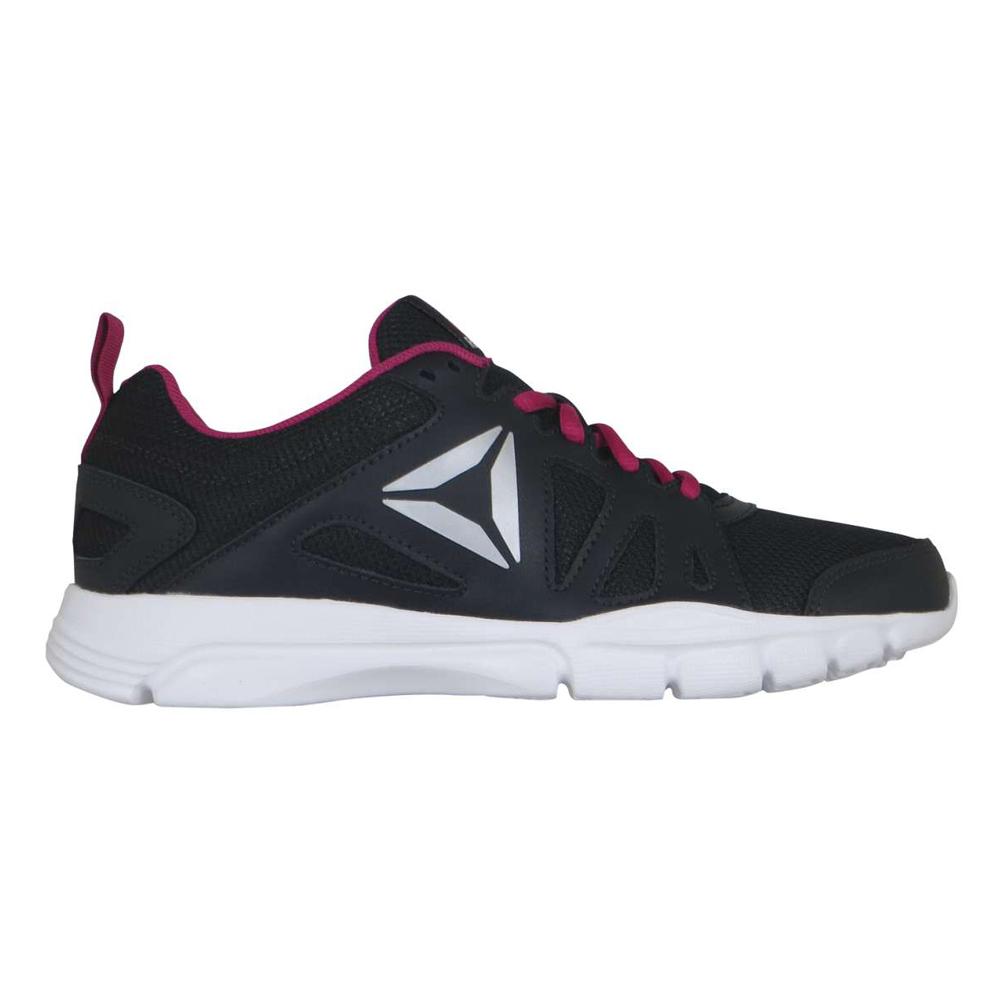 1bd25d88f70c76 Nike Dual Fusion Run 2 Black Pink Ladies Running Shoes - Black Slate Pink  Foil Metallic Silver