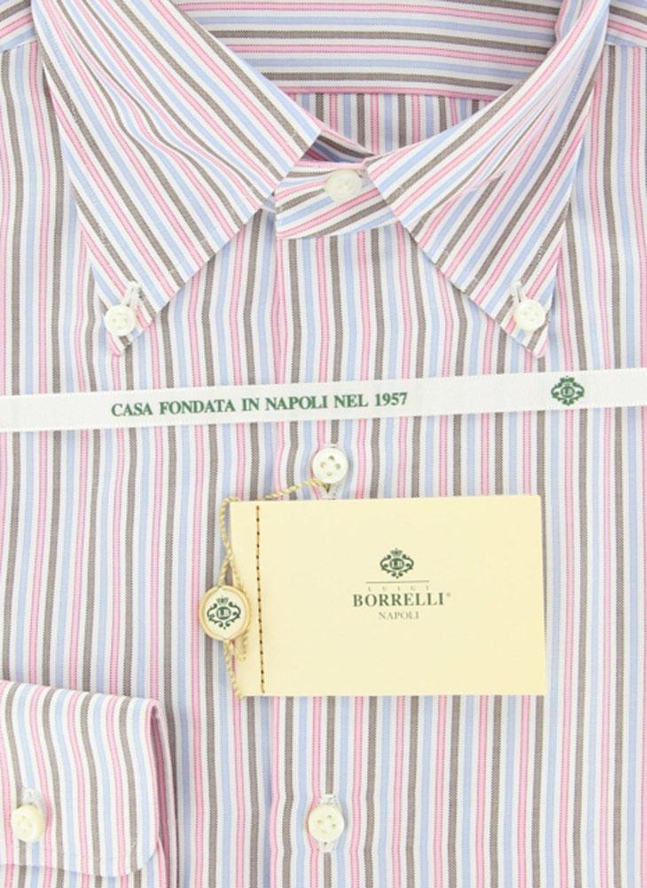 Luigi Borrelli New Blue Shirt 18//45