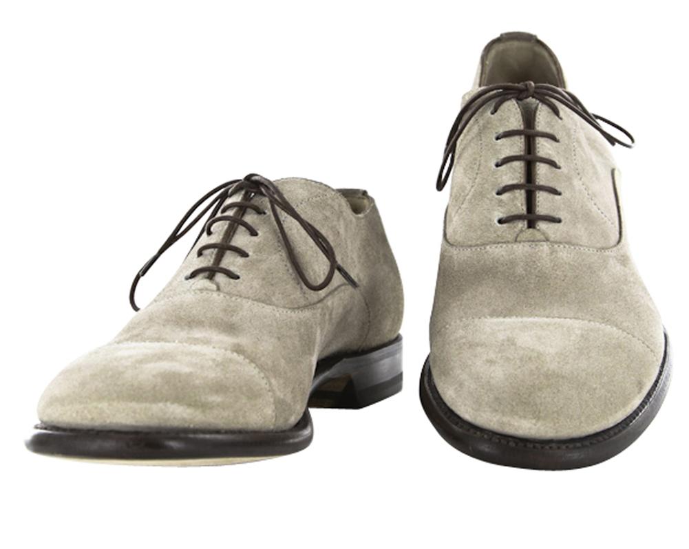 Men S Clarks  Franson Plain Buck Shoe Tan Leather