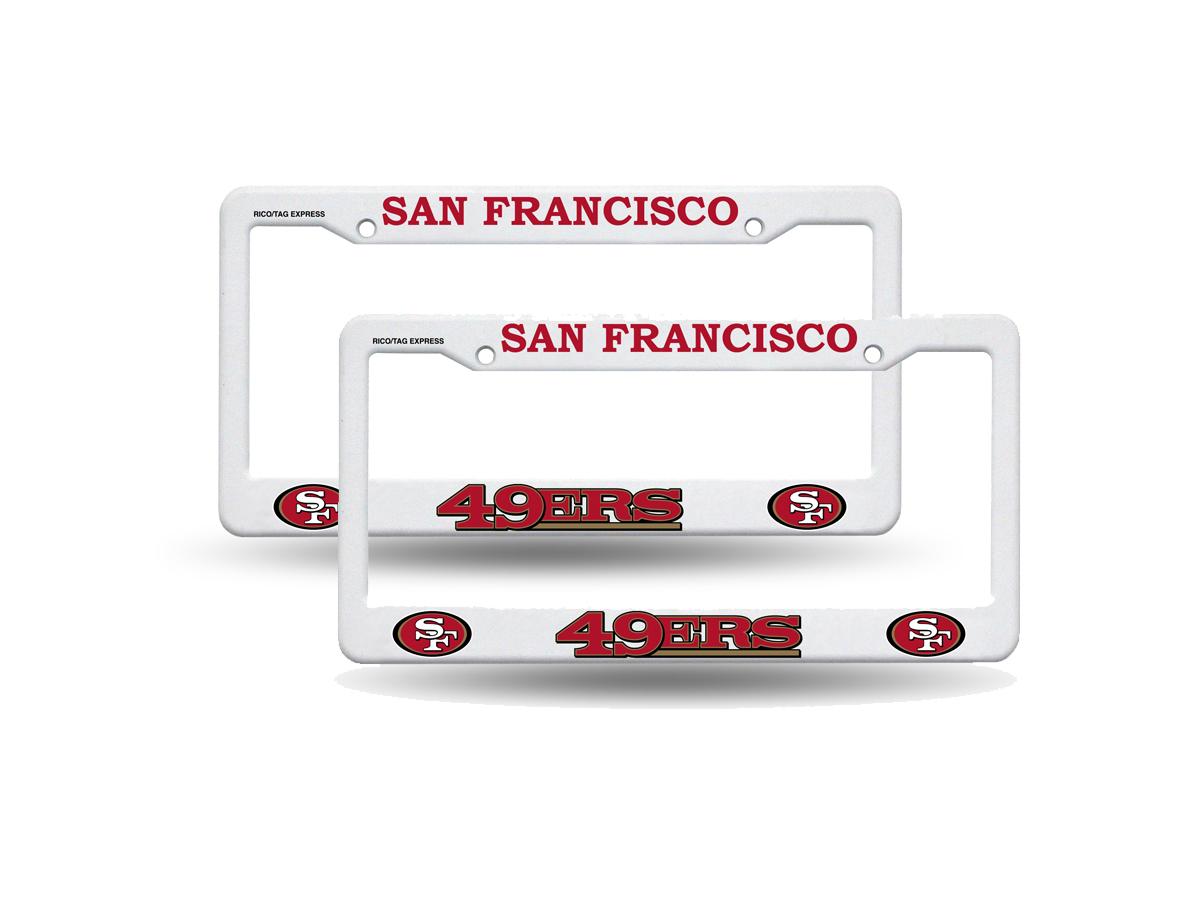 Colorful Seahawks License Plate Frame Festooning - Picture Frame ...
