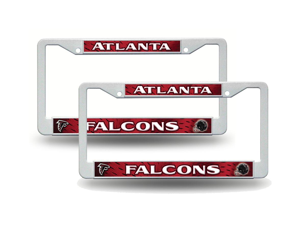 NFL Teams - Football Plastic (2) License Plate Frame Set Car Truck ...