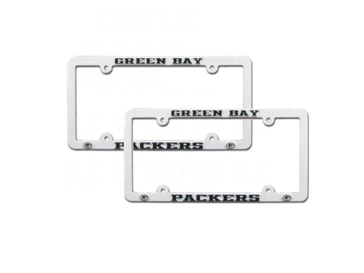 Beautiful Packers License Plate Frame Frieze - Framed Art Ideas ...