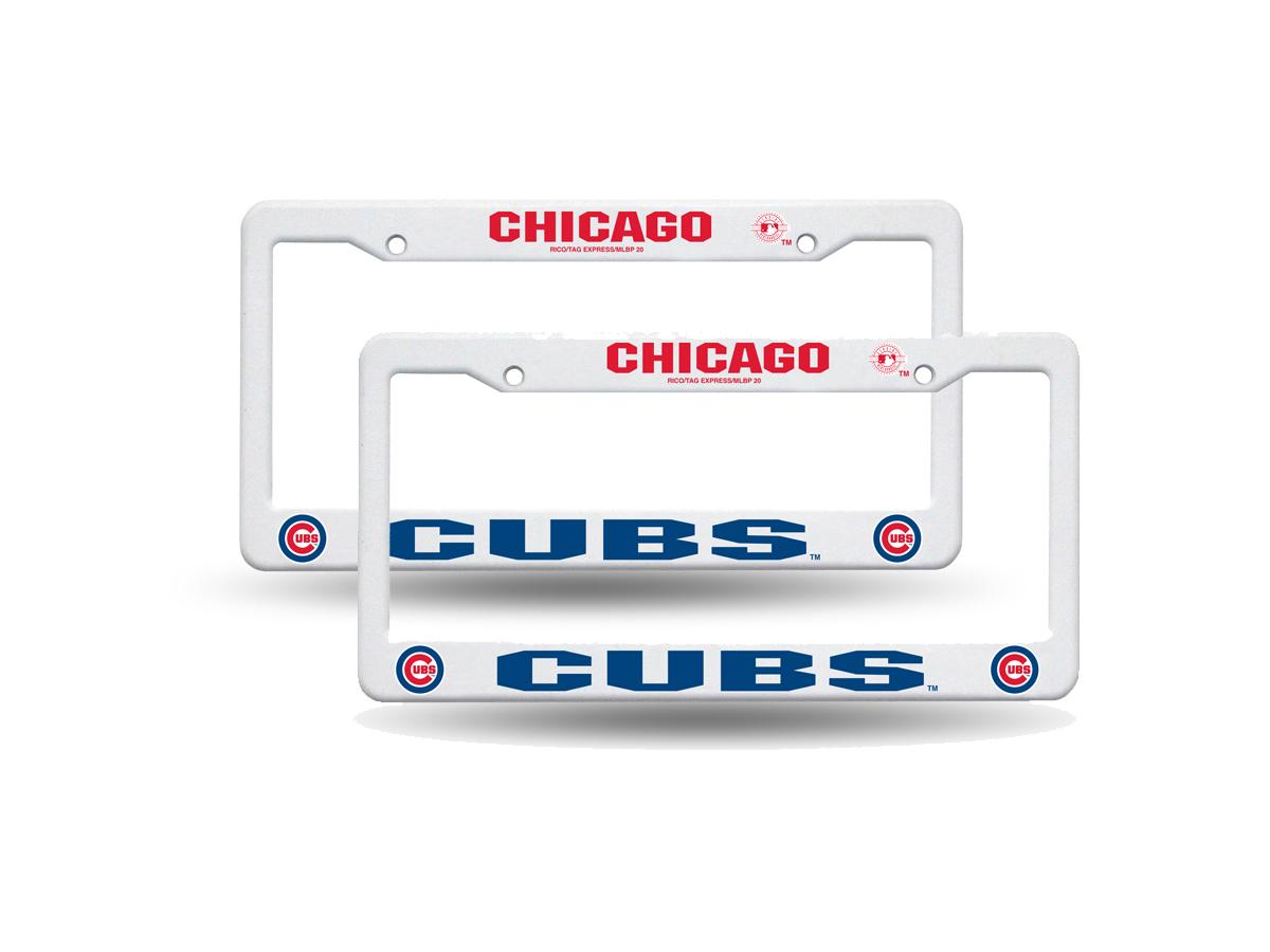 Mlb Teams Baseball Plastic 2 License Plate Frame Set Car