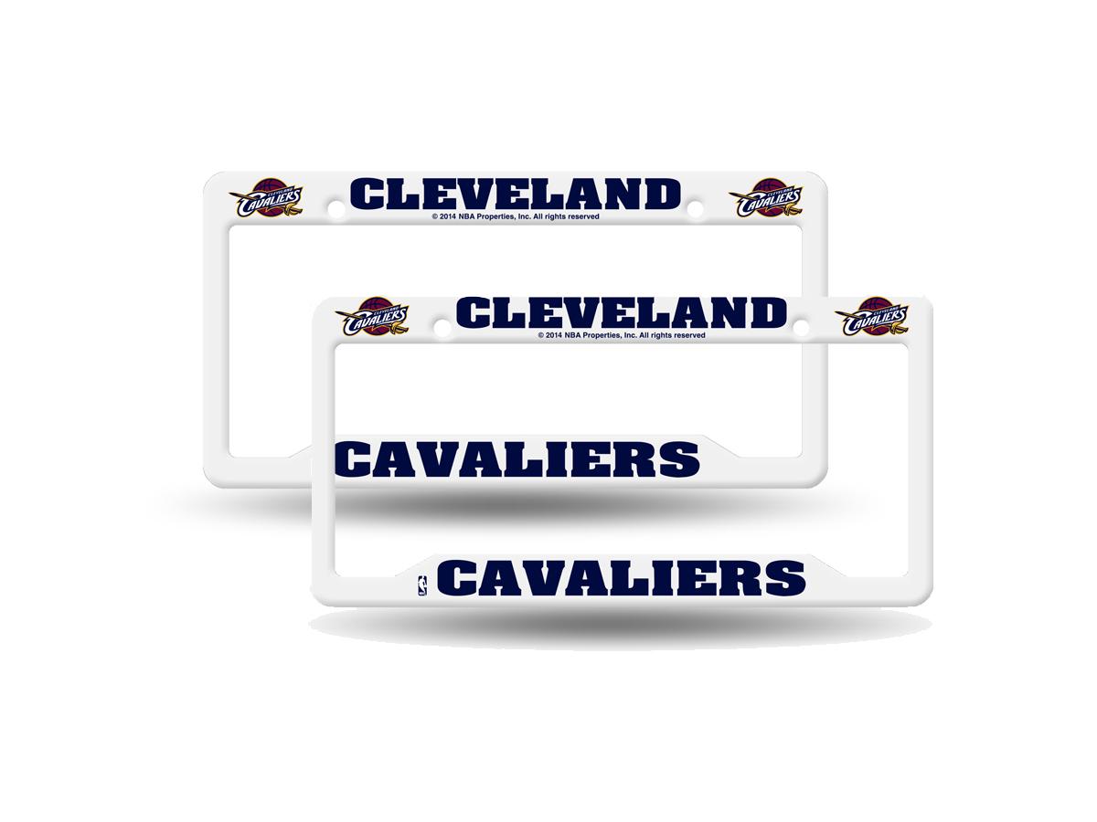 Nba Teams Basketball Plastic 2 License Plate Frame Set