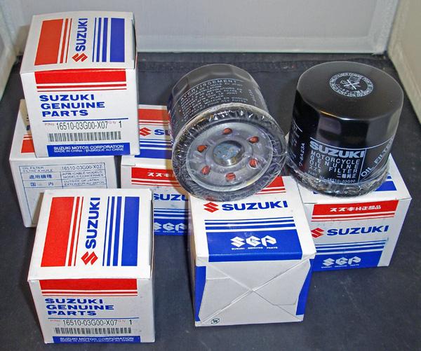 Suzuki 6 Pack Of Oil Filters Lta400 Eiger Ltf400 King Quad Lta450x 500 700 750