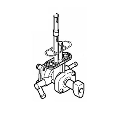 arctic cat oem atv fuel shut off valve 07