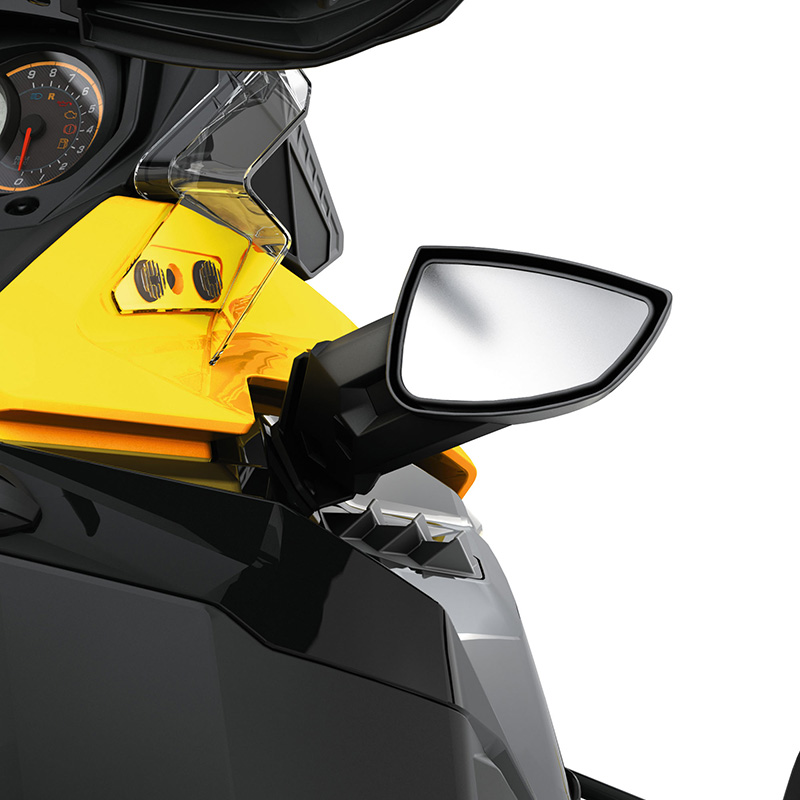Snowmobile Side Mirrors : Ski doo oem mirror kit rev xm xs ebay