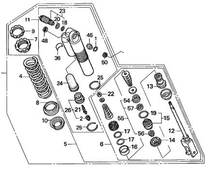 Honda Oem Rear Shock Assy 05 07 Cr125r Cr 125 R 2005 2007 52400 Ksr