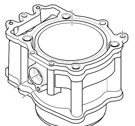 Arctic Cat Oem Cylinder 08 17 Atv 700 Trv Tbx Xt Mud Pro 700 0804