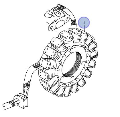 Suzuki Oem Stator Atv 06 08 Ltr450 Quadracer 450 Lt R450 32101 45g00