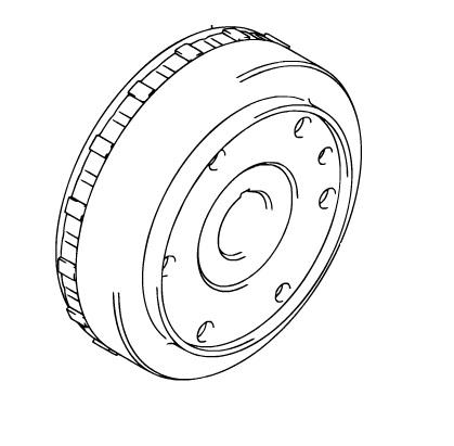 Suzuki Oem Flywheel Rotor 06 11 Ltr450 Quadracer 450 Lt R450 32102