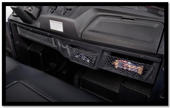 Honda Under Dash Storage Pioneer 700 2014 2016 08l73 Hl3