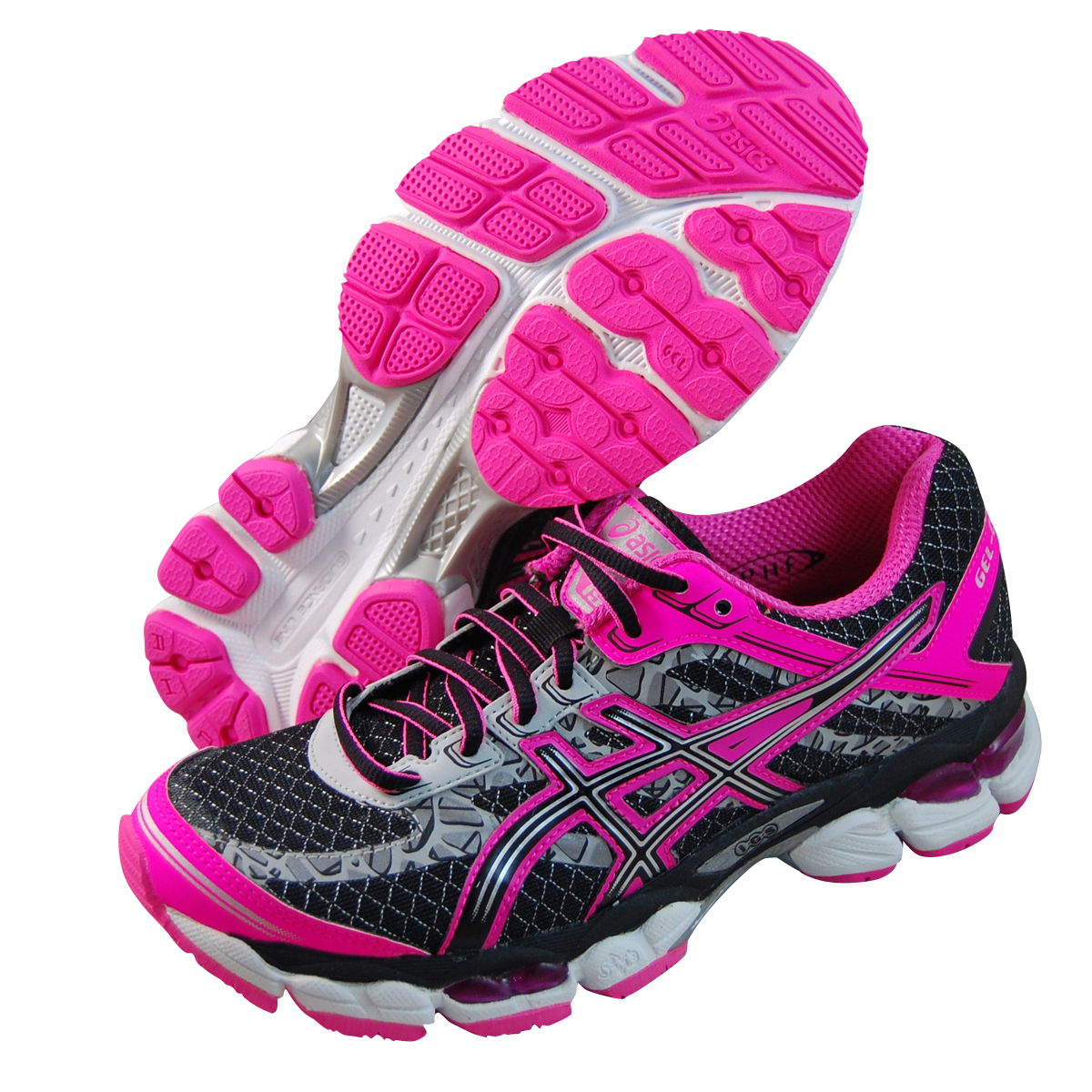 Asics Womens Gel Cumulus 15 Lite Show Pink running shoes