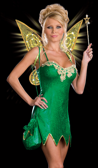 Sexy Pixie Fairy Deluxe Light Up Tinkerbell Costume