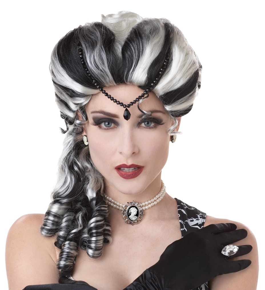 Black White Victorian Vampire Bride Frankenstein Widow
