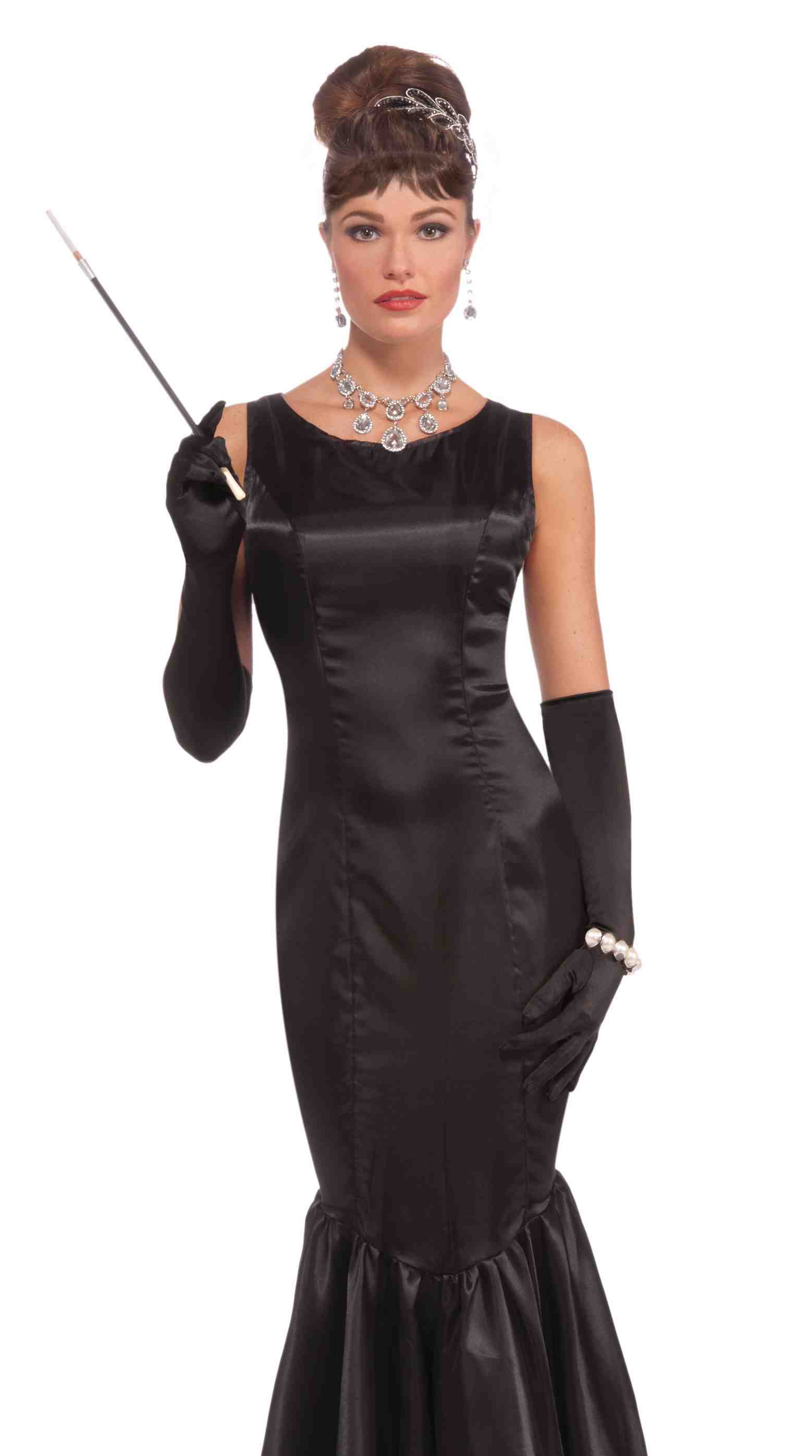 Retro Film Star Audrey Hepburn Halloween Fancy Dress ...