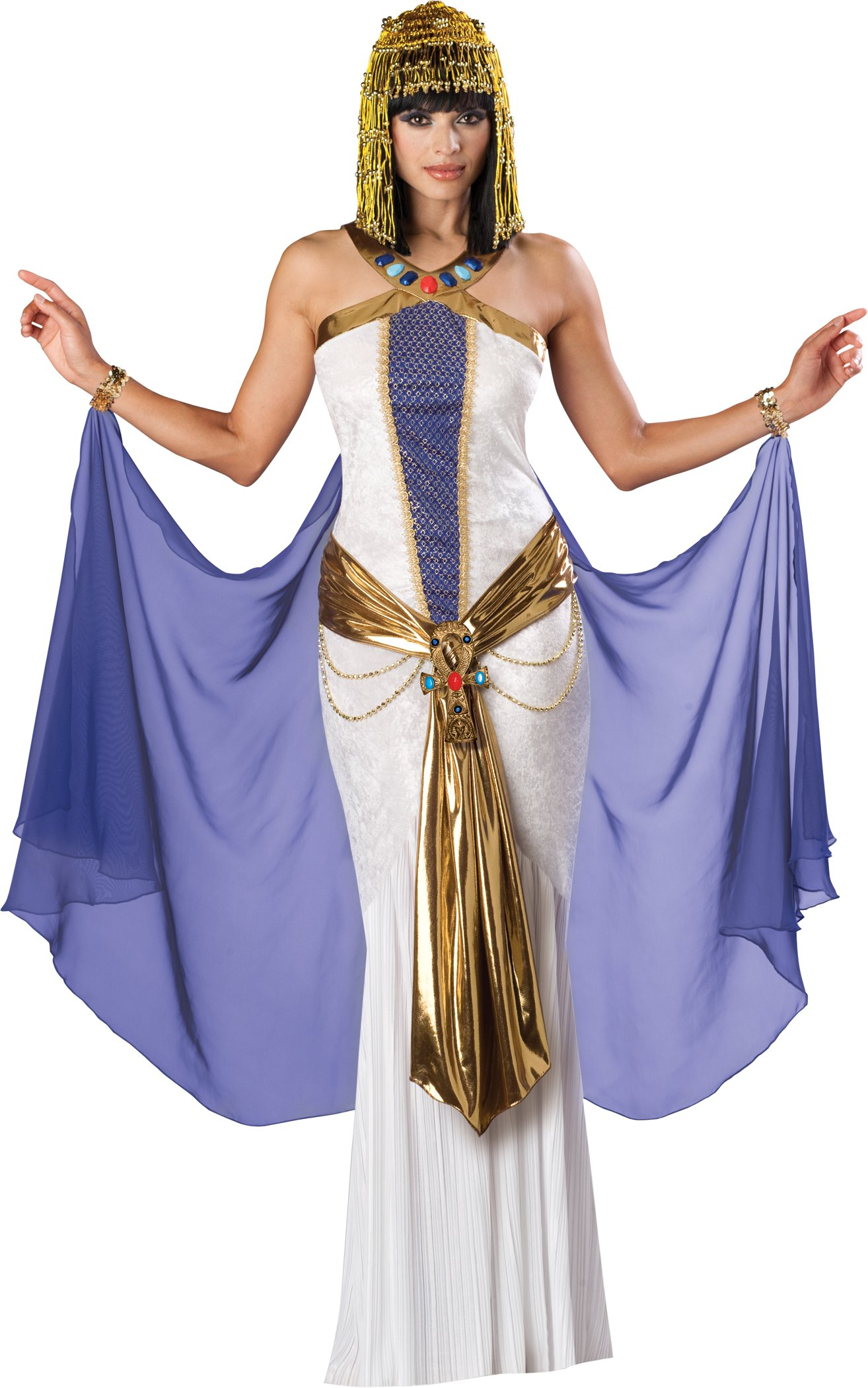Sexy Cleopatra Egyptian Goddess Queen Halloween Costume | eBay