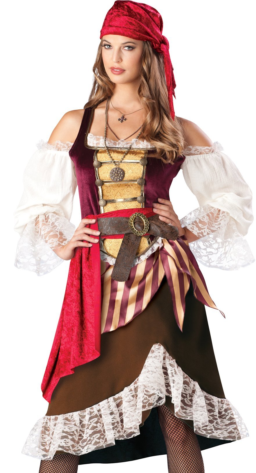 pirate wench pictures sexy womens deluxe pirate wench halloween costume ebay 4210