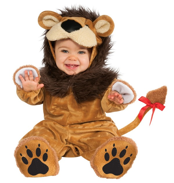infant baby boys girls cowardly lion halloween costume ebay. Black Bedroom Furniture Sets. Home Design Ideas
