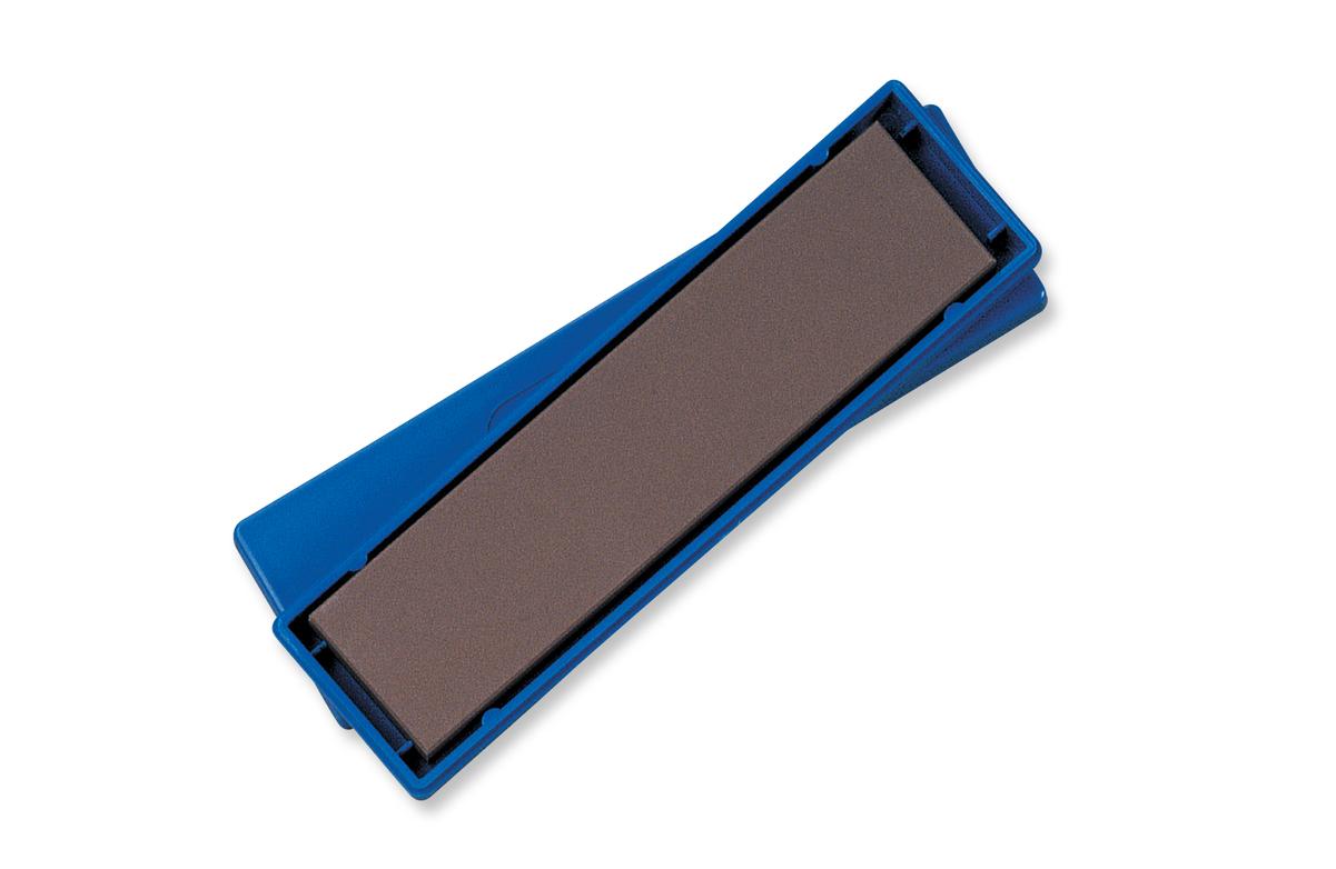 Spyderco Benchstone Medium-Grit Knife Sharpener Brown High Alumina Ceramic
