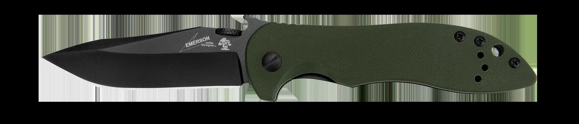 Kershaw Emerson Olive Drab G-10 CQC-5K Liner Lock Stainless Pocket Knife