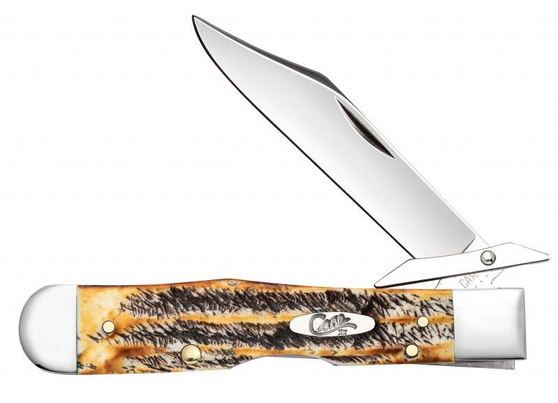 Case XX 6.5 BoneStag Cheetah Stainless Pocket Knife
