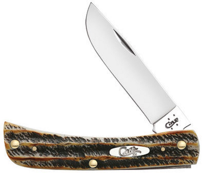 Case XX 6.5 Bone Stag Sodbuster Stainless Pocket Knife Knives