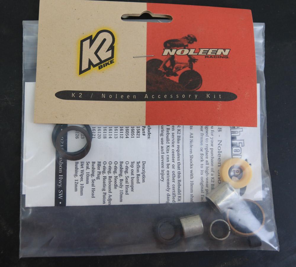 K2 NOLEEN Pro-Flex RK015 Slider Fork Seal Rebuild Kit
