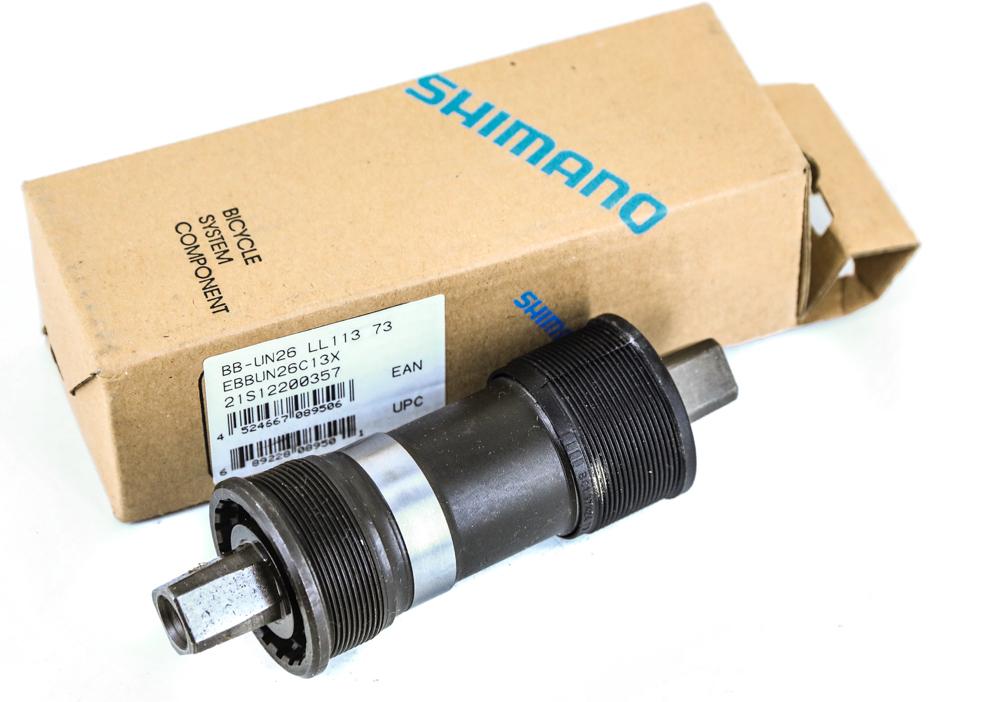Shimano Tourney BB-UN26 Square Taper JIS Bottom Bracket English 68 x 110mm
