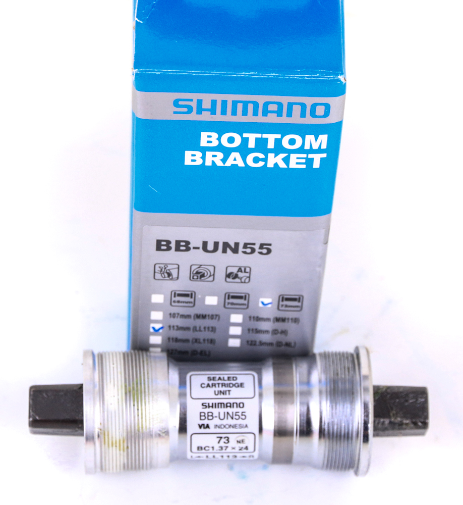 Shimano BB-UN55 Square Tapered Bike Crank Bottom Bracket 68 x 122mm NEW