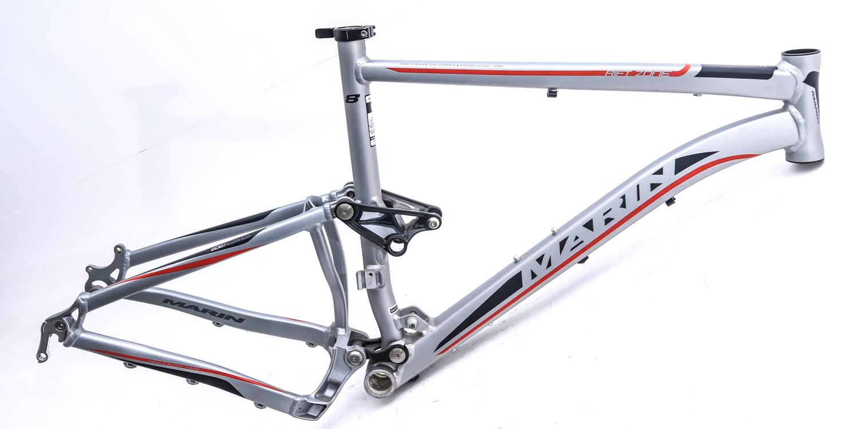 Marin Xc8 19 L Full Suspension 26 Mtb Bike Frame Missing Parts New