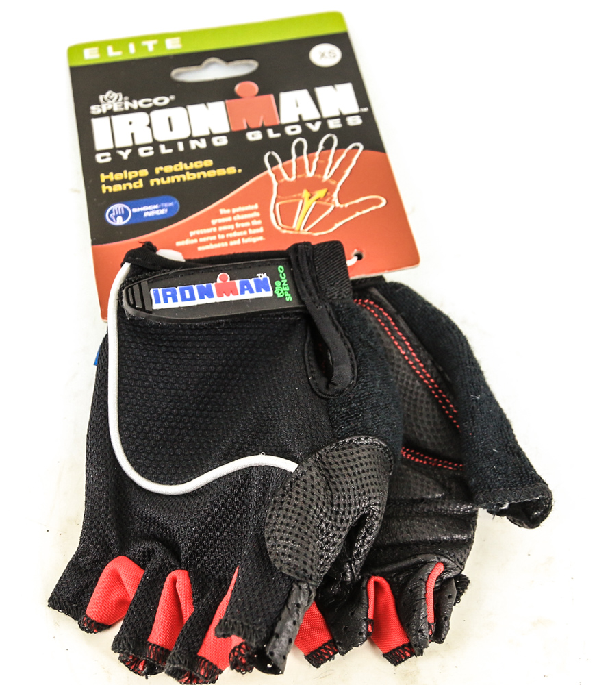 SPENCO POLICE SERIES Small S Sm Cycling Black Bike Padded Full Finger Gloves NEW