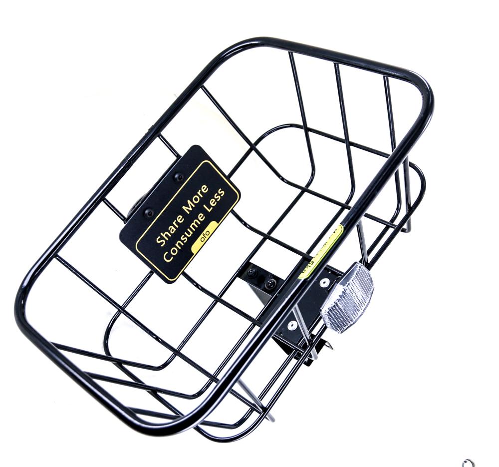 """Bicycle 1-1//8/"""" Steel Basket Bracket Bike for front or rear Basket Black"""