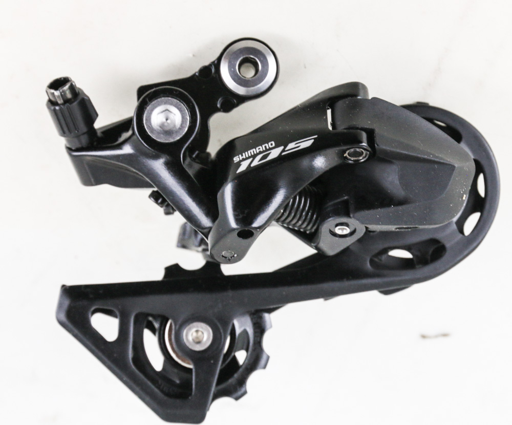 SHIMANO 105 RD-R7000-GS 11-SPEED BLACK MEDIUM CAGE ROAD BIKE REAR DERAILLEUR