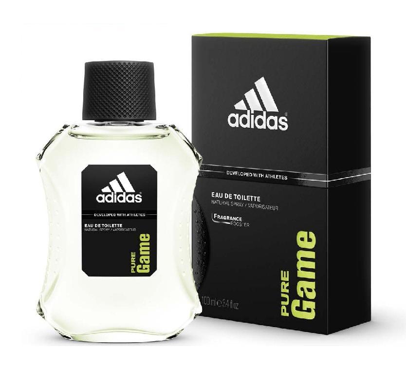 online retailer 5b8c3 06be6 ADIDAS PURE GAME 3.4 oz Eau de Toilette Spray Men s Cologne NEW 100 ml NIB