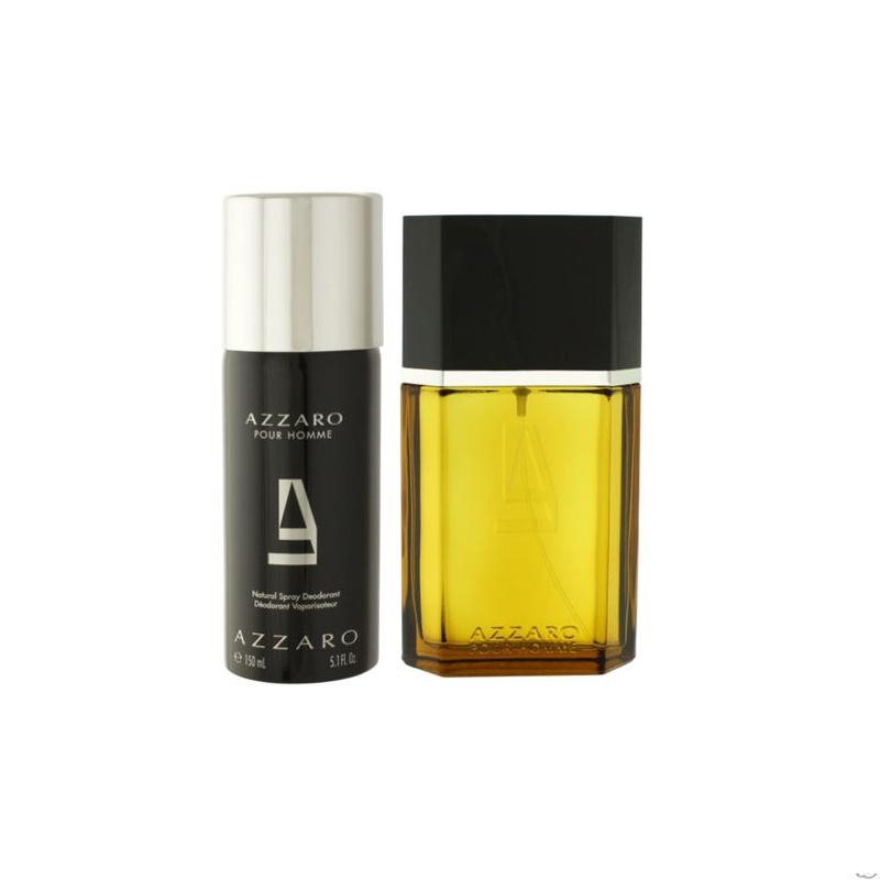 AZZARO POUR HOMME 3.3 EDT spray Men Cologne+ 5.1 deodorant Travel Gift Set  NIB cdf88834212